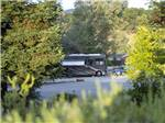 View larger image of View of a site with a big rig at ANGELS CAMP RV  CAMPING RESORT image #3