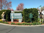 View larger image of Sign at entrance to RV park at RV RESORT FOUR SEASONS image #2