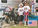 View larger image of Couple camping at AMERICAS BEST CAMPGROUND image #7