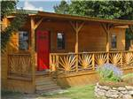 View larger image of Cabin with deck at AMERICAS BEST CAMPGROUND image #11