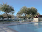 View larger image of Swimming pool at campground at VALENCIA TRAVEL VILLAGE image #2