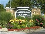 View larger image of Sign at entrance to RV park at COTTONWOODS RV PARK image #1