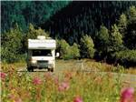 View larger image of RV driving at ANCHORAGE SHIP CREEK RV PARK image #11
