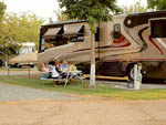 View larger image of Family camping in RV at HERITAGE RV PARK image #1