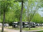 View larger image of RVs camping at RIPPLIN WATERS CAMPGROUND  CABIN RENTAL image #6