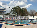 View larger image of People swimming in the pool at IMPERIAL BONITA ESTATES RV RESORT image #9