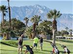 View larger image of Men playing golf at THE SANDS GOLF  RV RESORT image #2