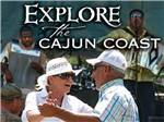 View larger image of Couple dancing at CAJUN COAST VISITORS  CONVENTION BUREAU image #1