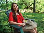 View larger image of Camper relaxing at CAJUN COAST VISITORS  CONVENTION BUREAU image #6