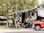 View larger image of Campers floating down the river at CREEKSIDE RV PARK image #6