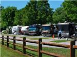 View larger image of RVs camping at BIG MEADOW FAMILY CAMPGROUND image #2