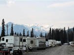 View larger image of Camping under snowcapped mountains at CANTWELL RV PARK image #5