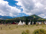 View larger image of Teepees camping at ELK MEADOW LODGE AND RV RESORT image #7