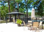 View larger image of The fenced in pool area at OAK SPRINGS RV RESORT image #2