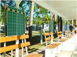 View larger image of The shuffleboard courts at OAK SPRINGS RV RESORT image #8