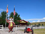 View larger image of Yogi at entrance to campgrounds at JELLYSTONE RV PARK image #2