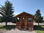 View larger image of Cabin with deck at JELLYSTONE RV PARK image #6