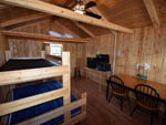 View larger image of Inside cabin at JELLYSTONE RV PARK image #7