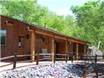 View larger image of Lodging with patio at ZANE GREY RV VILLAGE image #7