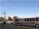View larger image of SUV towing an Airstream trailer at LIBERTY HARBOR MARINA  RV PARK image #5