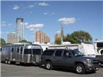 View larger image of Paved road with RV sites at LIBERTY HARBOR MARINA  RV PARK image #6