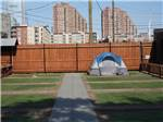 View larger image of View of the marina with two boats docked at LIBERTY HARBOR MARINA  RV PARK image #7