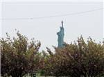 View larger image of View of New York City from the harbor at LIBERTY HARBOR MARINA  RV PARK image #10