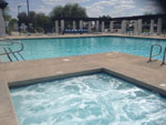 View larger image of Pool and hot tub at PLEASANT HARBOR MARINA  RV RESORT image #4