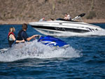 View larger image of Jet ski and boat at PLEASANT HARBOR MARINA  RV RESORT image #6