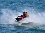 View larger image of Jet skiing at PLEASANT HARBOR MARINA  RV RESORT image #12