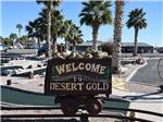 View larger image of Sign leading into RV park at DESERT GOLD RV RESORT image #5