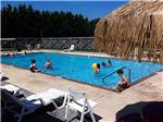 View larger image of Gravel road lined with big rig sites at TWIN OAKS RV PARK image #2