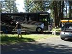 View larger image of People camping in RV at SCANDIA RV PARK image #3