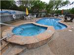 View larger image of Magnificent aerial view of campground at STONE CREEK RV PARK image #1