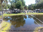 View larger image of Duck races at NATURES RESORT image #11