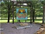 View larger image of Sign leading into RV park at HO-CHUNK RV RESORT  CAMPGROUND image #1
