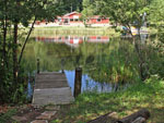 View larger image of Dock on the water at HO-CHUNK RV RESORT  CAMPGROUND image #3