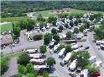 View larger image of Aerial view over campground at KINGS HOLLY HAVEN RV PARK image #9