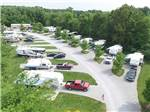 View larger image of Amazing aerial view over resort at SPRING LAKE RV RESORT image #1