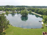 View larger image of Aerial view over campground at SPRING LAKE RV RESORT image #5