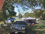 View larger image of Tents camping at YOUNGS LAKESHORE RV RESORT image #1