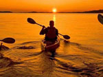 View larger image of Kayaking at YOUNGS LAKESHORE RV RESORT image #5