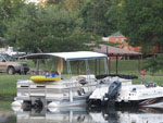 View larger image of Boats docked at YOUNGS LAKESHORE RV RESORT image #6