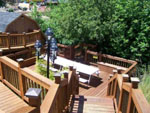 View larger image of Deck on the lake at MIDWAY RV PARK image #6