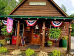View larger image of 4th of July decorated office at CREEKWOOD FARM RV PARK image #4