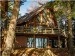 View larger image of Aerial view over campground at POINT SEBAGO RESORT image #3