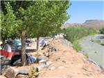 View larger image of Riverfront tenting sites at ZION RIVER RESORT RV PARK  CAMPGROUND image #8