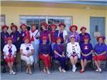 View larger image of Ladies partying at YANKEE TRAVELER RV PARK image #9
