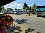 View larger image of Trailer camping with red awning at ELMA RV PARK image #5