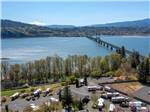 View larger image of Sign at entrance to RV park at BRIDGE RV PARK  CAMPGROUND image #1